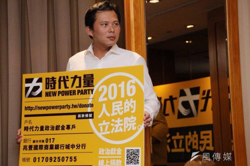 第三勢力指標人物黃國昌有意參選立委,但是遭到民進黨民代質疑。(楊子磊攝)