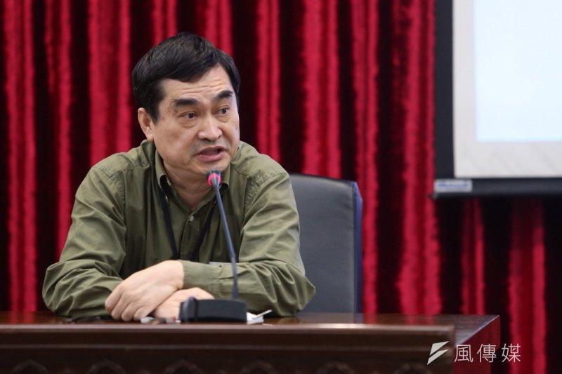 台北市副市長鄧家基證實,遠雄董事長趙藤雄昨(7)日晚間曾前往市府面談。(楊子磊攝)