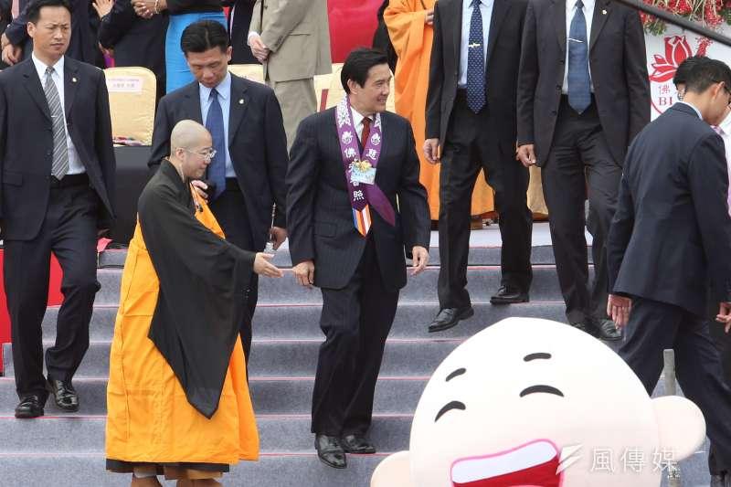 針對台北市廉政委員會建議移送總統馬英九,總統府今日再嗆柯市府。(資料照片,吳逸驊攝)