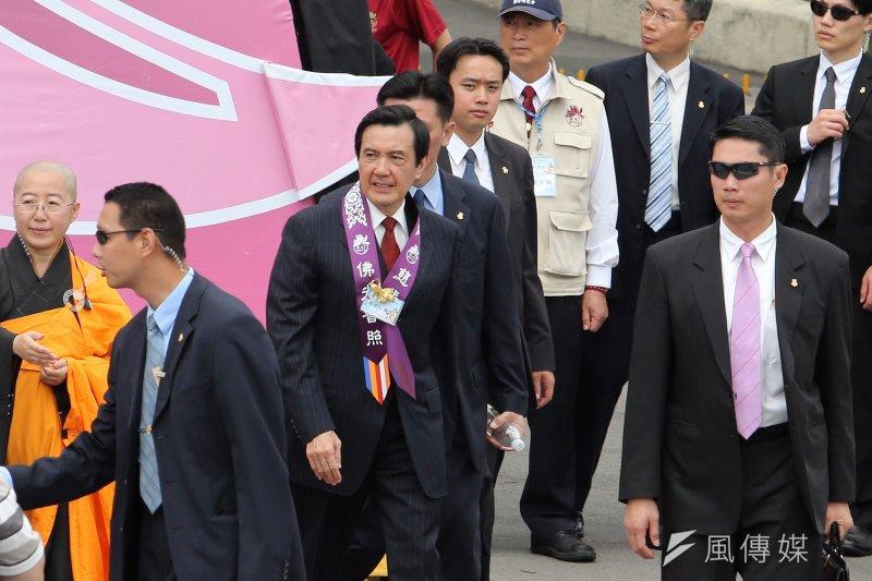 總統任期進入倒數階段,馬英九表示,他任內最遺憾的是年金改革未完成。(資料照片,吳逸驊攝)
