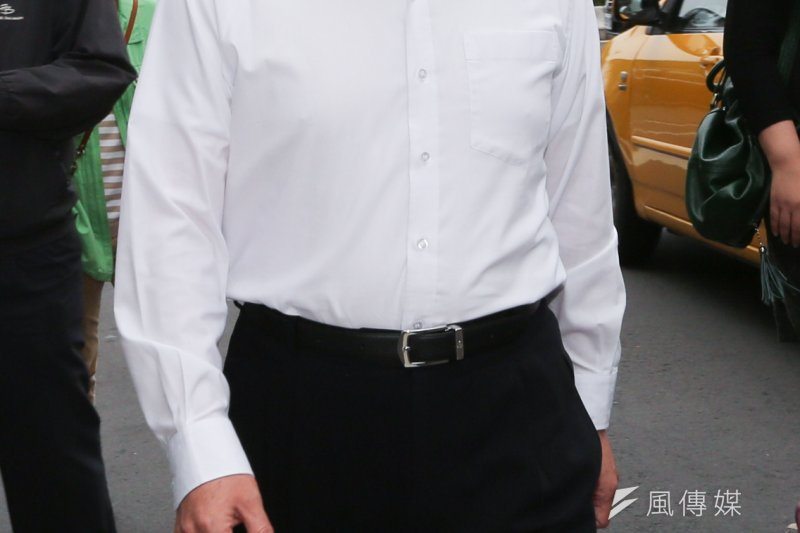前台北市長、國民黨基隆市立法委員參選人郝龍斌表示,此次柯文哲處理颱風事件有非常多狀況,應好好檢討。(資料照片/余志偉攝)