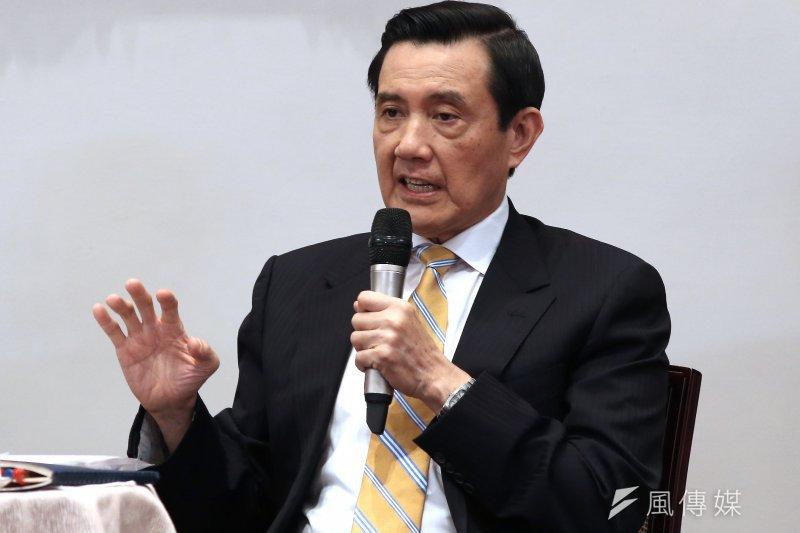總統馬英九召開國際記者會。