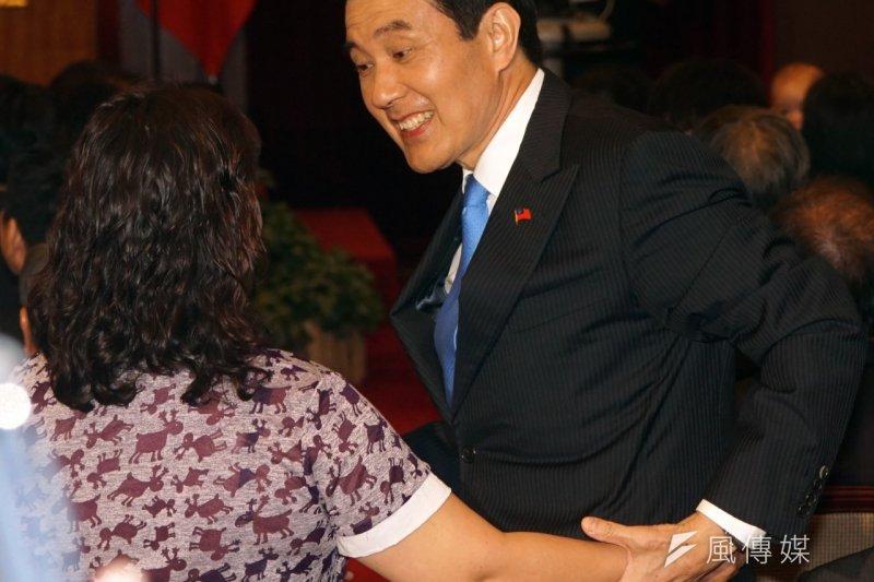 總統馬英九就職7周年,520這天邀請民眾一起參加活動。(蘇仲泓攝)