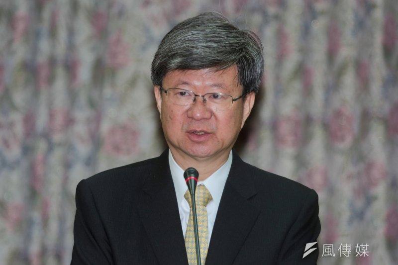 教育部長吳思華表示反課綱學生夜闖教育部的行為已經完全脫序,只能忍痛提告。(資料照,余志偉攝)