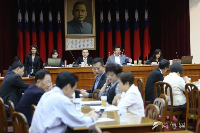 立法院修憲委員會開會。(吳逸驊攝)