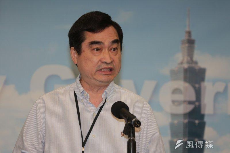 台北市副市長鄧家基27日出席台北燈會記者會受訪時回應,北市府已經和遠雄取得共識:「不拆蛋是一個確定的目標。」(資料照,余志偉攝)