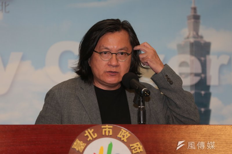 台北市都發局長林洲民表示,大巨蛋何時復工,只有遠雄能決定。(資料照片,余志偉攝)