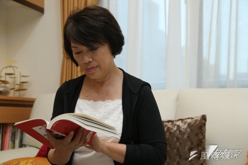 專訪龍應台(楊子磊攝)