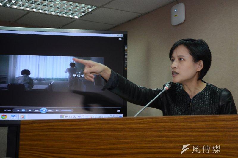 民進黨立委鄭麗君表示,核一廠大修頻出包,該是考慮提前除役的時候了。(資料照,宋小海攝)