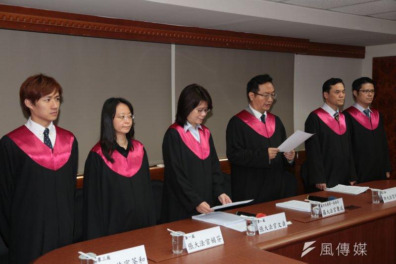 經過前2次的辯論後,模擬憲法法庭26日宣告死刑違憲。(余志偉攝)