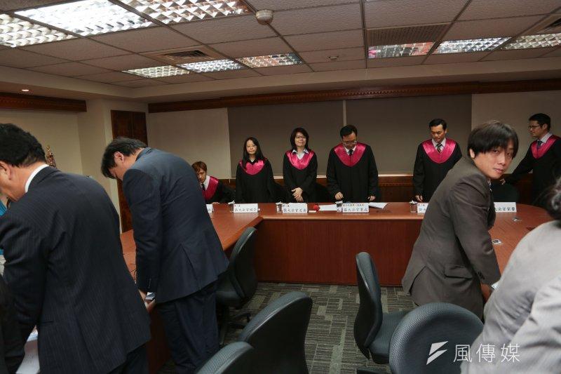 憲法是軟法?透過類似模擬憲法法庭辯論,可以強化憲法知性的討論。(資料照片,余志偉攝)