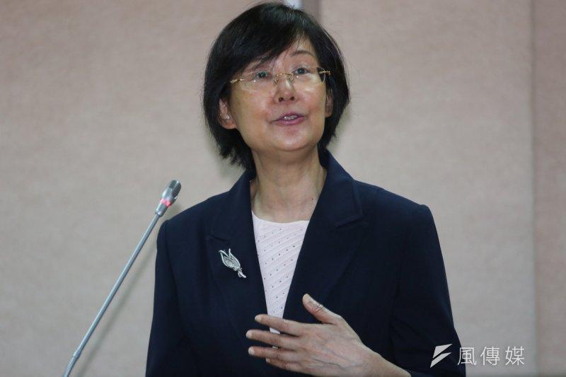 法務部長羅瑩雪。(資料照,余志偉攝)