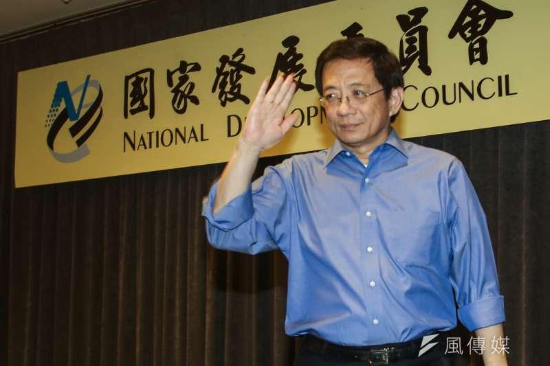 卸下公職三年,前國發會主委管中閔當選台大校長,未料却掀起「反管風波」。(資料照,林韶安攝)
