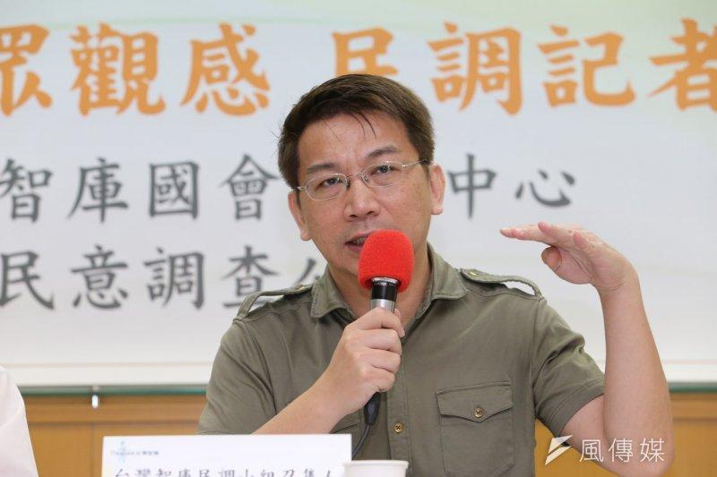 知名名嘴徐永明爭取民進黨在台中市第8選區的立委提名,但不順利。(資料照片,吳逸驊攝)