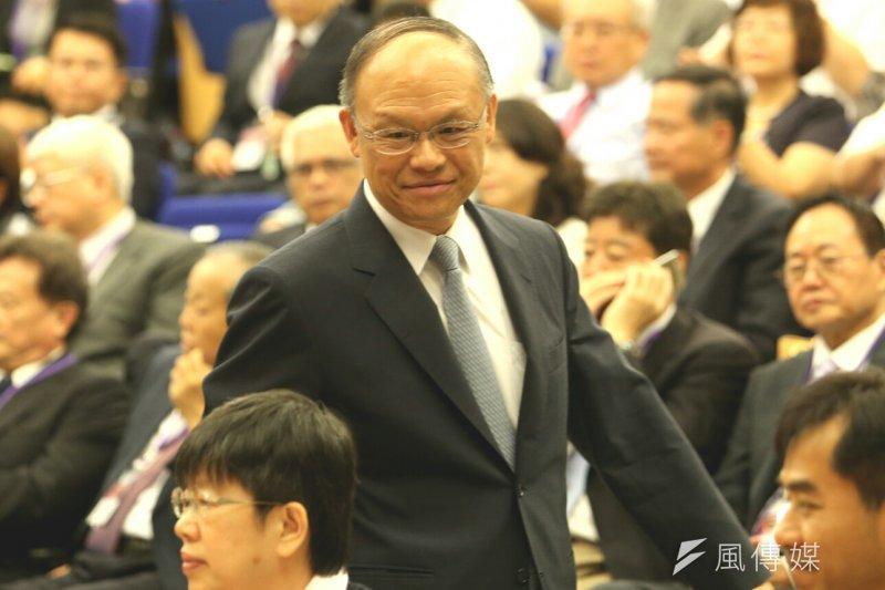 美通過TPA 經部全力爭取加入TPP談判,圖為經濟部長鄧振中。(資料照片,吳逸驊攝)