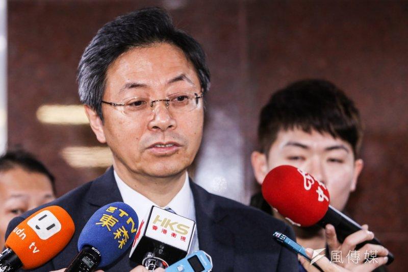 行政院副院長張善政表示,台積電赴陸設廠是非做不可的事。(資料照,林韶安攝)
