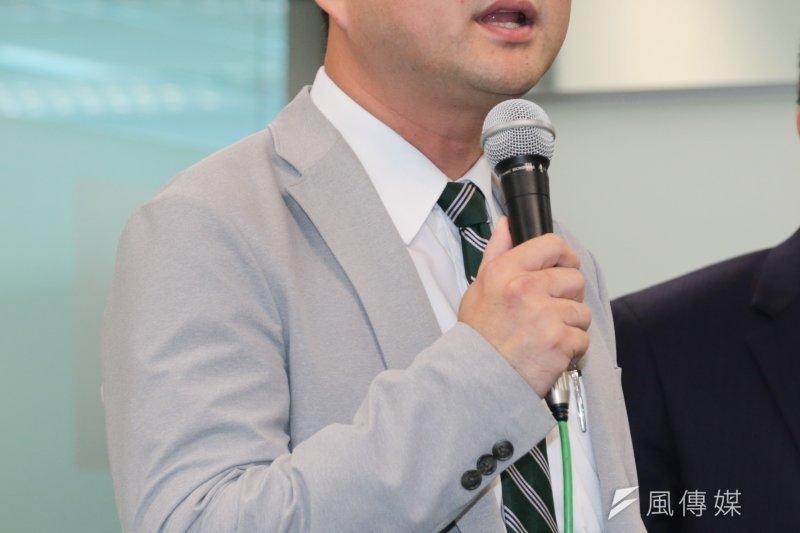 民進黨發言人阮昭雄。(資料照片,余志偉攝)