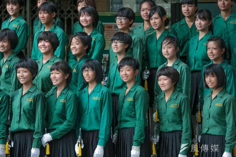 今年報名廈門大學的台灣學生有500多人,其中達到學測頂標有215人。圖為北一女學生。(資料照,余志偉攝)