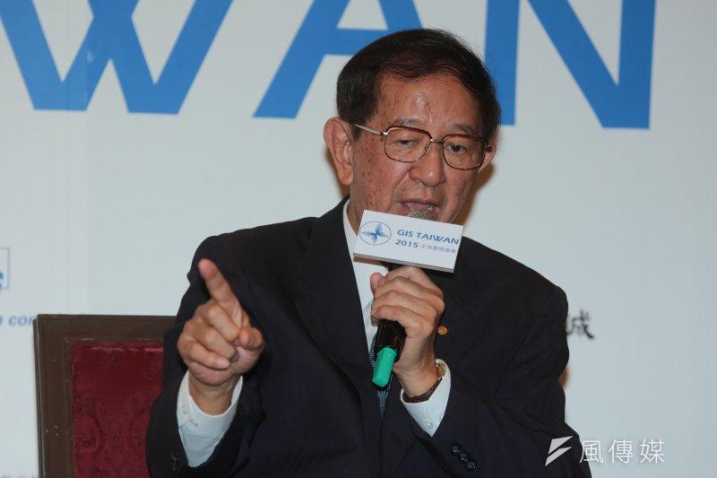 前中研院院長李遠哲加入反開放中資投資台IC產業連署。(資料照片,余志偉攝)