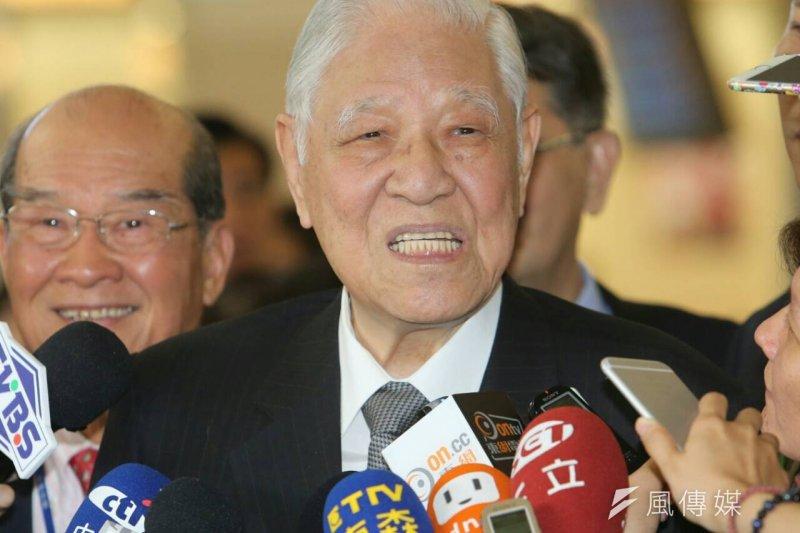 李登輝前總統21日啟程訪問日本(吳逸驊攝)