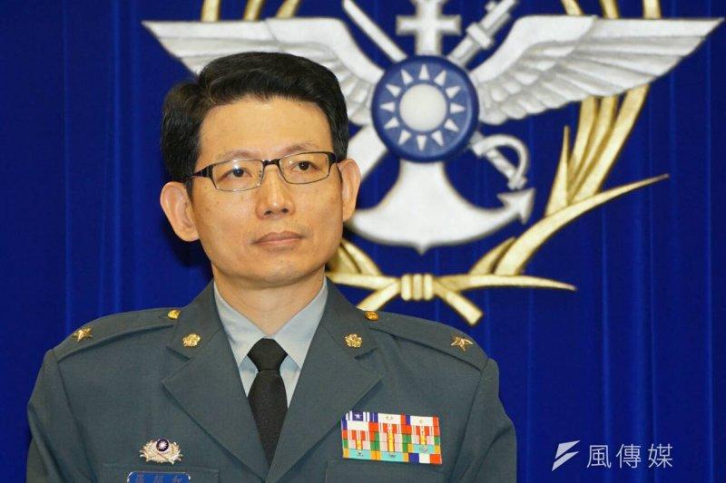 國防部發言人羅紹和(蘇仲泓攝)