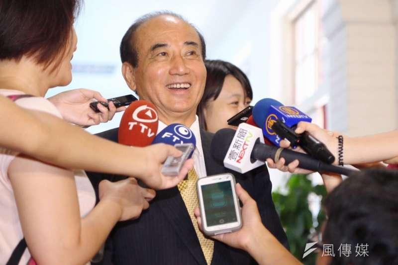 聯合國NGO全球和平東北大陸總使大山田秀生博士蒞院拜會王金平立法院長王金平。(蔡耀徵攝)