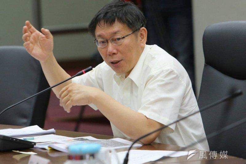 台北市長柯文哲要求社會局研訂酒駕防制工作,「酒駕再犯者入監戒癮」計畫預計10月試辦。(資料照,吳逸驊攝)