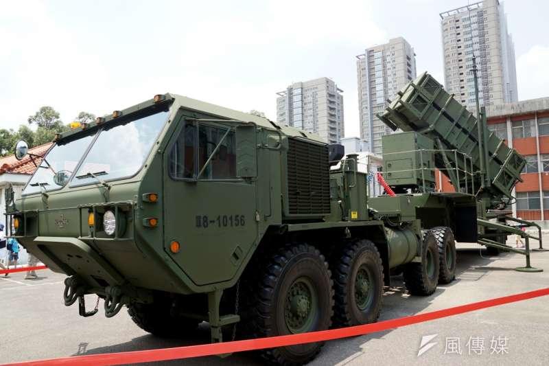 國家中山科學研究院19日上午進行愛國者二型飛彈攔截演訓。(資料照,蘇仲泓攝)