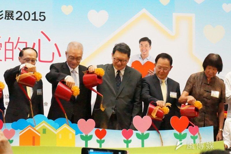 永慶慈善基金會舉辦「溫暖的家 摯愛的心」記者會,宣布「人間」公益影展將在8月4日到9日於華山電影館感動上映,民眾可免費入場觀賞電影。(王彥喬攝)