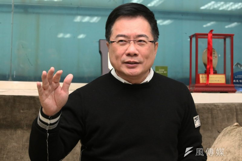 蔡正元表示,宇昌案真面目就是:國際標準答案是不可以,但蔡英文、何大一都說可以!(楊子磊攝)
