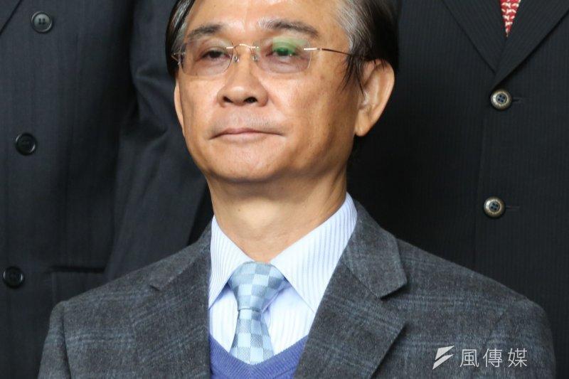 台北市教育局長湯志民(余志偉攝)