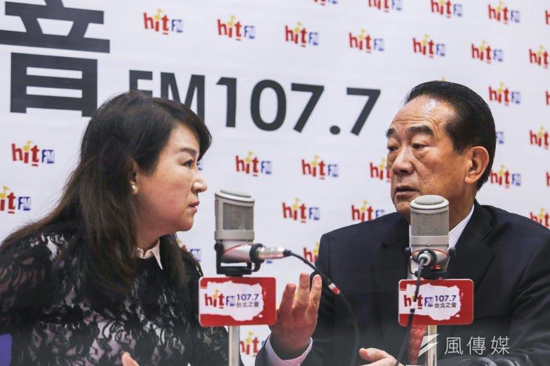 宋楚瑜7日上廣播節目《蔻蔻早餐》受訪表示,台灣要團結,所以整合政見,但也會跟施明德說「失禮」。(資料照片,林韶安攝)