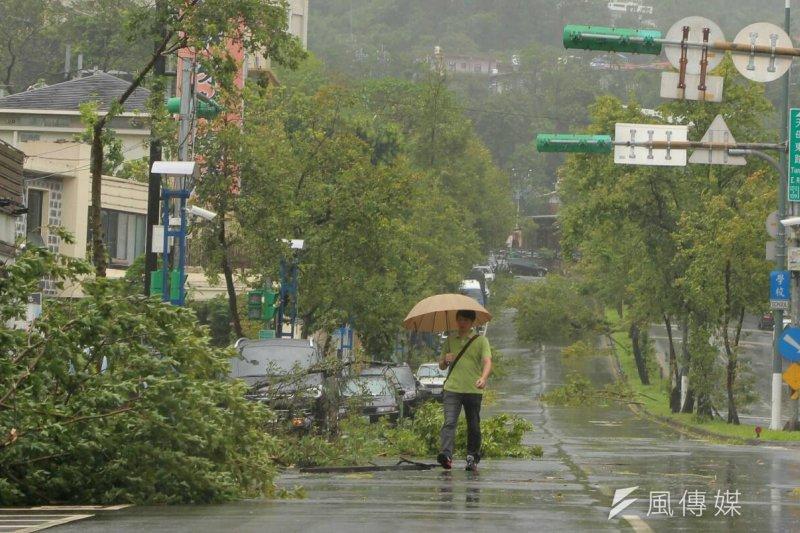 蘇迪勒颱風造成災害,台北市長承諾的SOP呢?(葉信菉攝)