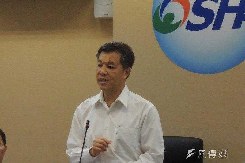 勞動部長陳雄文出席基本工資審議委員會。(葉瑜娟攝)