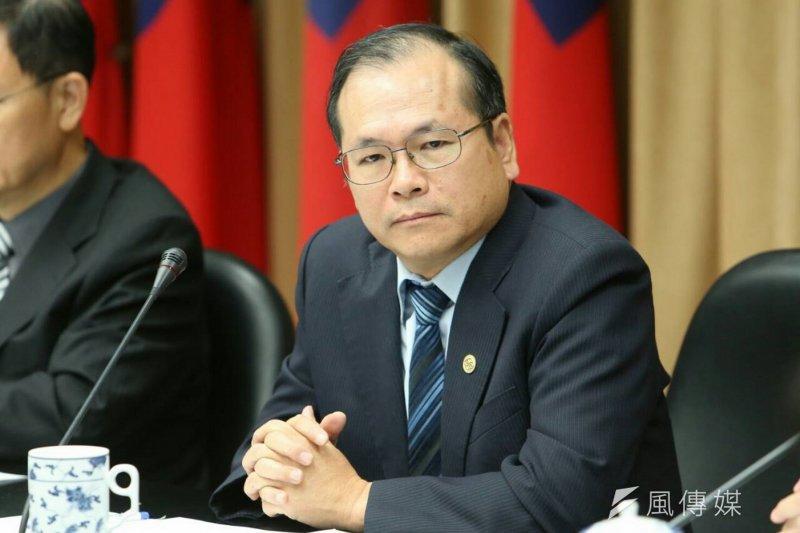 陸委會副主委林祖嘉。(吳逸驊攝)