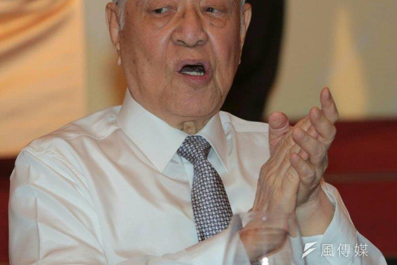 李登輝基金會22日舉辦「2015年度募款餐會」,民進黨主席蔡英文、台北市長柯文哲、台灣團結聯盟主席黃昆輝都參加。(資料照,余志偉攝)