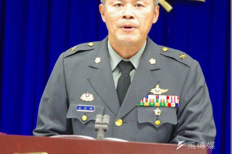 黃國明表示,勞乃成是否能復飛,要等公務員懲戒委員會作出決定後,再依據勞提出的復飛申請進行審查。(朱明攝)