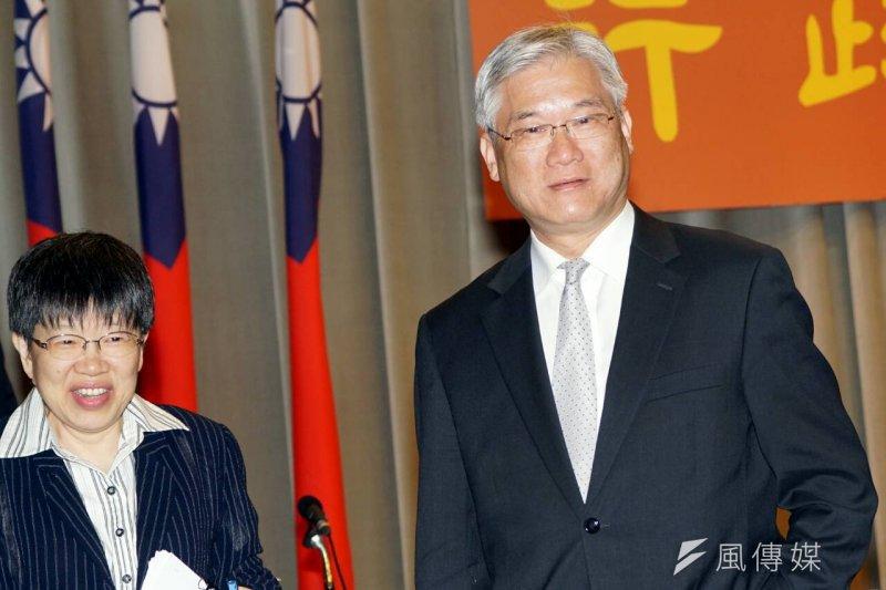 陸委會主委夏立言26日表示,陸委會的責任就是將兩岸關係維持下去,不受「其他因素」影響。(蘇仲泓攝)