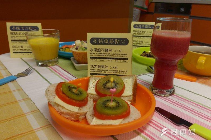 家長可以協助孩童有良好均衡的飲食習慣,避免高糖飲料、油炸食物,減少外食等等(郭昱宏攝)
