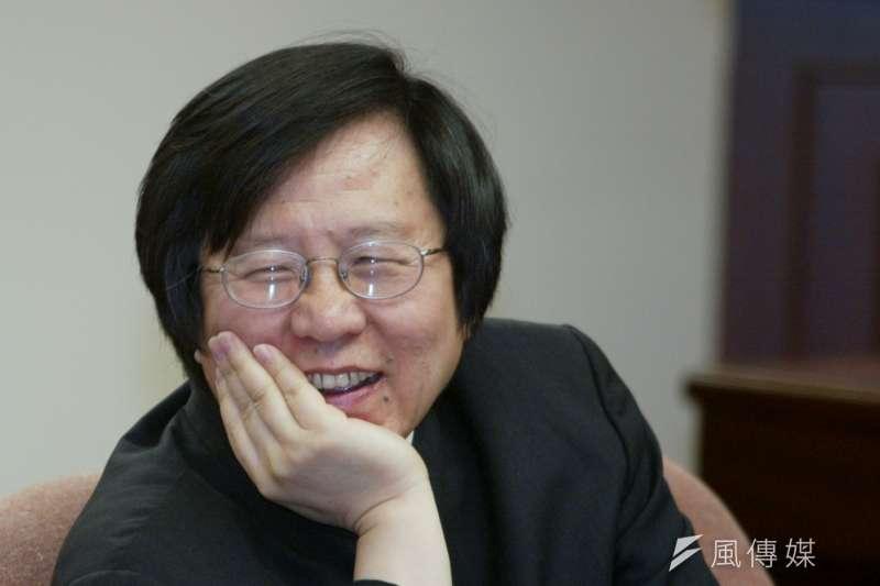 前行政院副院長邱義仁。(資料照片,余志偉攝)