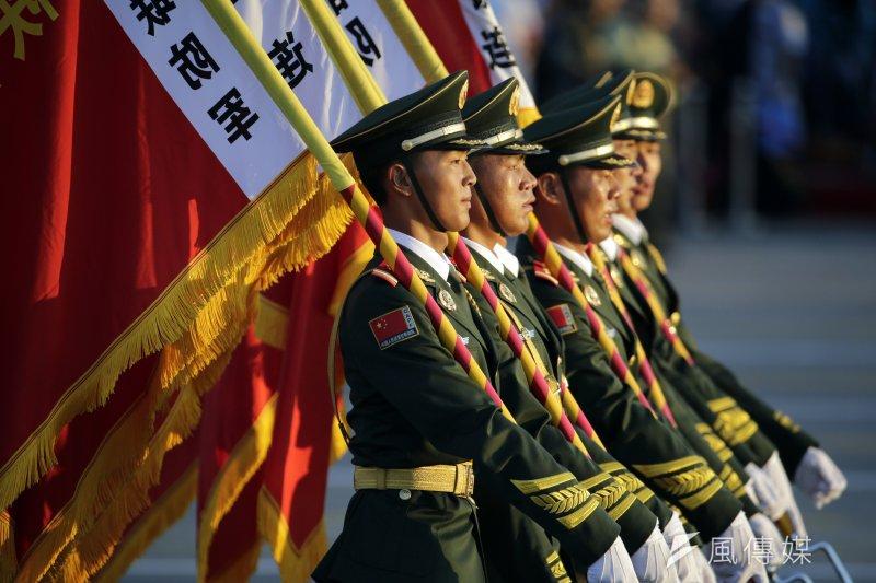 中國九三大閱兵(美聯社)