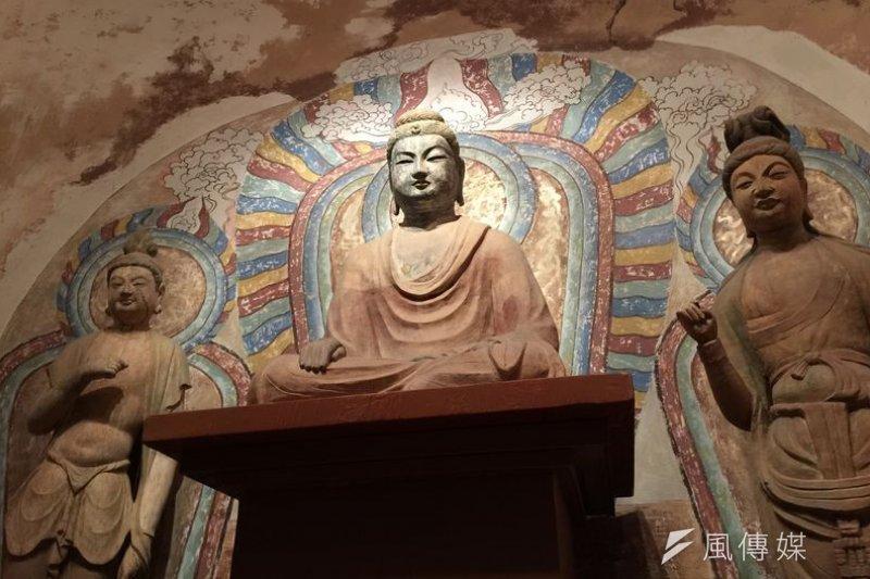 佛教精神不只出世,也有入世的公共成份。(圖為敦煌石窟/夏珍攝)