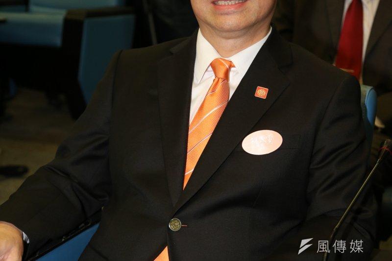 已積極在基隆市參選的親民黨立委參選人劉文雄。(資料照片,余志偉攝)