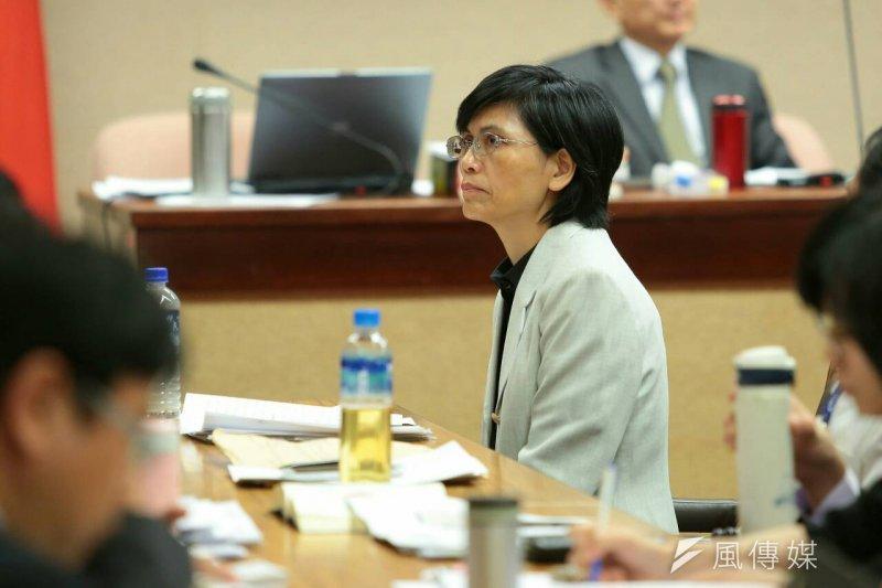行政院資安辦公室主任蕭秀琴。(顏麟宇)
