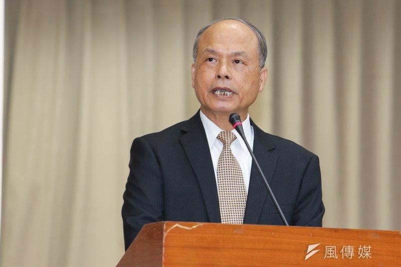 財政部長張盛和一席「台灣的房仲跟7-11一樣多」的話,被批為「冷血」,上午澄清無打壓之意。(資料照片,陳明仁攝)