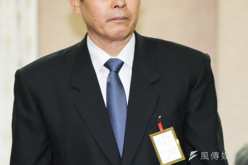 國安局副局長郭崇信。(陳明仁攝)