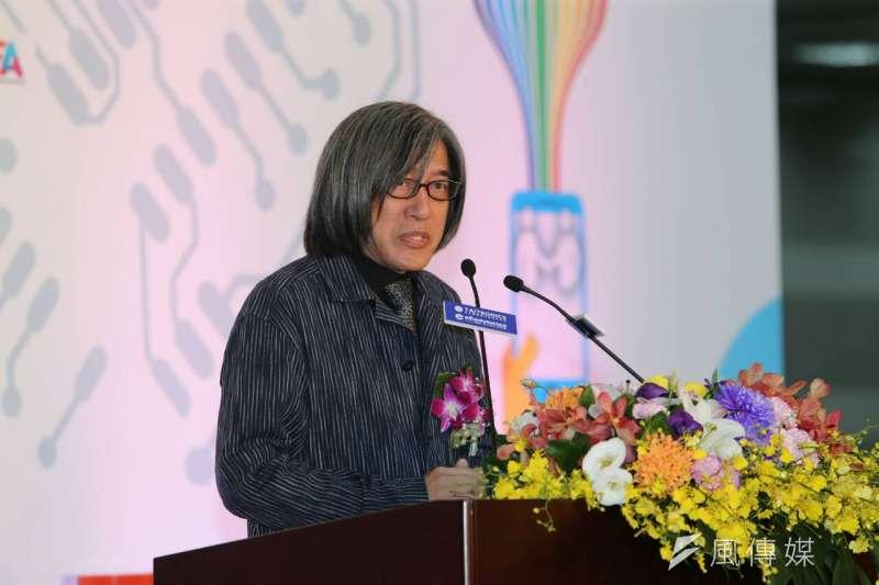 詹宏志認為台灣的電子商務是一個非常成功的案例,值得其它國家學習。(陳明仁攝)