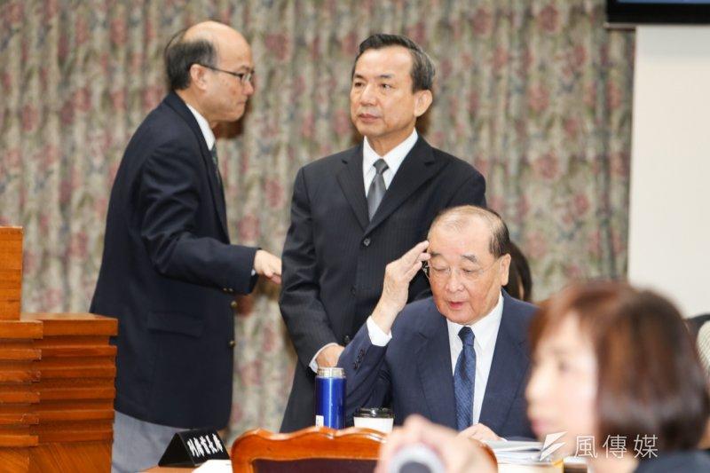 文化部長洪孟啟立法院備詢。(陳明仁攝)