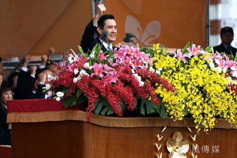 總統馬英九出席中華民國中樞暨各界慶祝104年國慶大會(蘇仲泓攝)