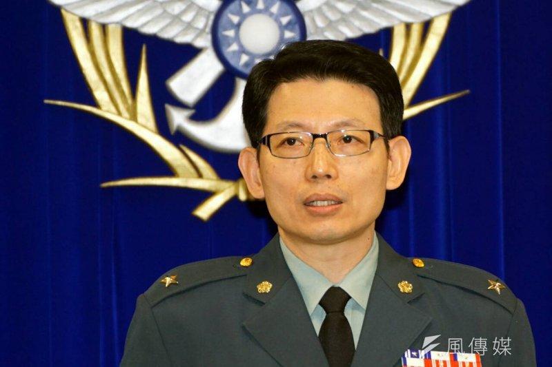 國防部軍事發言人羅紹和表示,國防部目前沒有接獲馬總統要去太平島的相關訊息,所以無法說明。(資料照,蘇仲泓攝)